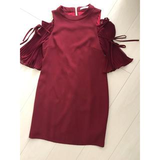 スナイデル(snidel)のスナイデルのドレス(ミディアムドレス)