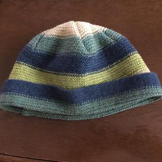 トゥモローランド(TOMORROWLAND)のROBERT  MACKIE  ニット帽(ニット帽/ビーニー)