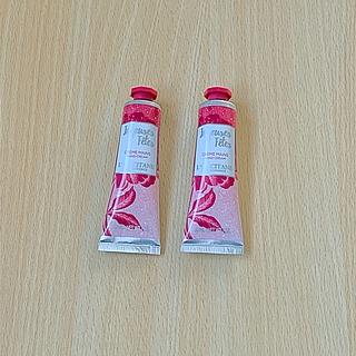L'OCCITANE - ロクシタン フランボワーズフリジア ベルベットローズ ハンド&ネイルクリーム新品
