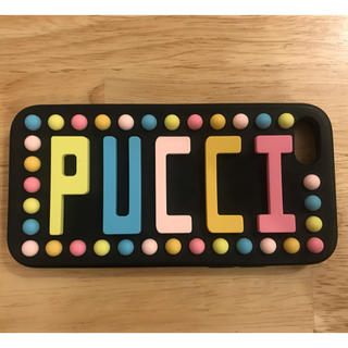 エミリオプッチ(EMILIO PUCCI)のPUCCI スマホケース iPhone7(iPhoneケース)