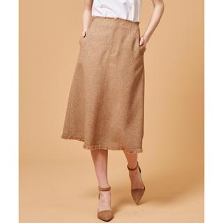 ルシェルブルー(LE CIEL BLEU)の【美品】ルシェルブルー / ミドルAラインスカート(ひざ丈スカート)