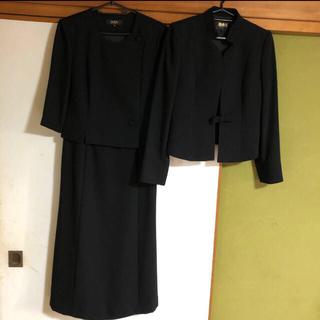 ユミカツラ(YUMI KATSURA)の桂由美 ユミカツラ ブラックフォーマル スーツ (礼服/喪服)