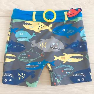 motherways - マザウェイズ 水着 ハーフパンツ サメ クジラ 男の子 100〜110