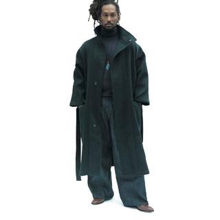 アンユーズド(UNUSED)のwhowhat tibet coat black fri20(トレンチコート)