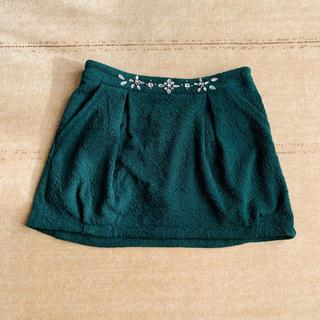 ページボーイ(PAGEBOY)のページボーイ グリーン スカート(ミニスカート)