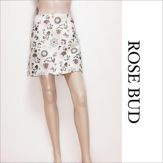 ローズバッド(ROSE BUD)のROSE BUD ジャガード スカート♡ラグナムーン DIESEL ZARA(ミニスカート)