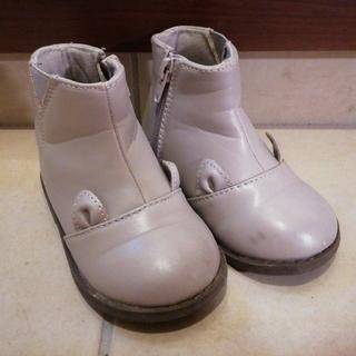 プティマイン(petit main)のpetit main グレーブーツ 14cm(ブーツ)