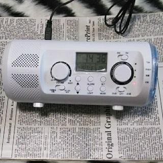 ダイナモチューブラジオ(防災関連グッズ)
