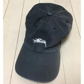 ステューシー(STUSSY)のSTUSSY ステューシー ブラック 帽子 キャップ(キャップ)