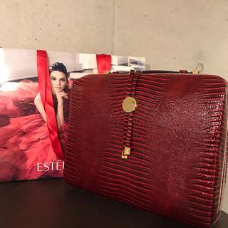 エスティローダー(Estee Lauder)のエスティローダーのクロコダイルバック(ハンドバッグ)