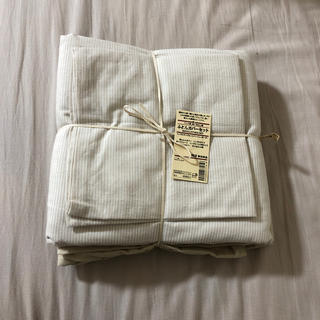 MUJI (無印良品) - 無印良品 布団カバーセット