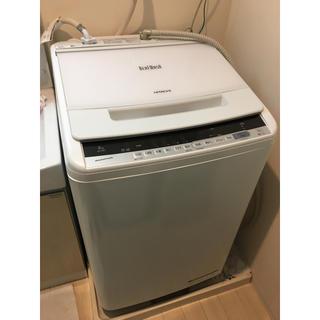 日立 - 日立 ビートウォッシュ BW-V80C 全自動洗濯機 2019年製 6年保証付