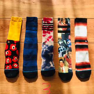 STUSSY - 新品 5足組セット stance socks スタンス ソックス 靴下 3