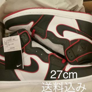 ナイキ(NIKE)のNike Air Jordan 1 High OG BLOODLINE (スニーカー)