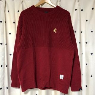 APPLEBUM - APPLEBUM Mixed Crew Neck Sweater アップルバム