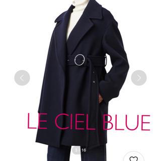 ルシェルブルー(LE CIEL BLEU)のLE CIEL BLUE 大人気 ベルトコート💛ほぼ新品😳(チェスターコート)