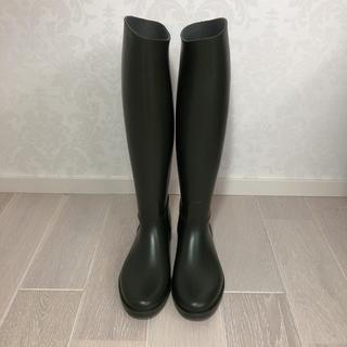 フランス製 ロングブーツ 数回の使用回数の美品‼️(ブーツ)