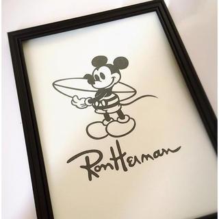 ロンハーマン(Ron Herman)のアートポスター ミッキー ロンハーマン(ウェルカムボード)