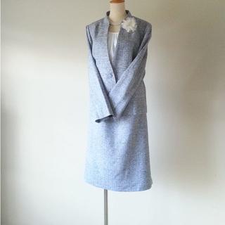 レリアン(leilian)の13+ Leilian ツイード スーツ(スーツ)