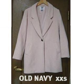 オールドネイビー(Old Navy)のOLDNAVY⭐️ピンクコート sizeXXS(チェスターコート)
