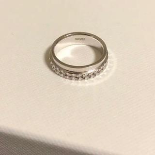 スターリングシルバーリング☆美品(リング(指輪))