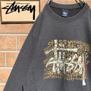 ステューシー(STUSSY)の【超激レア!!】90s USA製 ステューシー スウェット デカロゴ(スウェット)