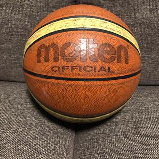 molten - molten バスケットボール 公式7号 天然皮