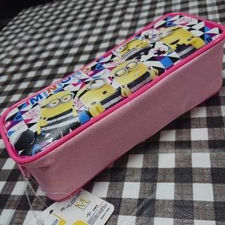 ミニオン(ミニオン)のミニオンズ ペンケース 筆箱 ペンポーチ カラー: ピンク(キャラクターグッズ)
