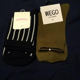ウィゴー(WEGO)のWEGO  ショートソックス2足セット(ソックス)