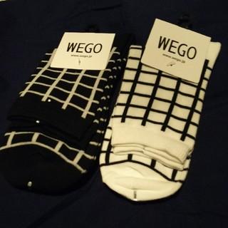 ウィゴー(WEGO)のWEGOショーとソックス2足セット(ソックス)