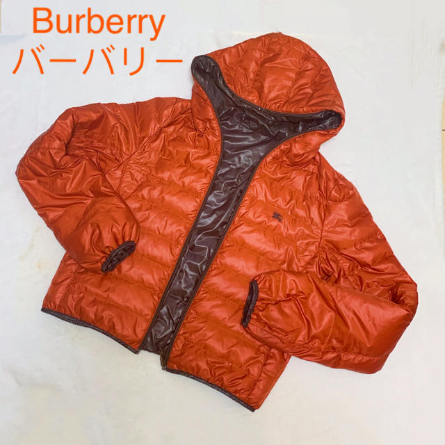 BURBERRY BLUE LABEL(バーバリーブルーレーベル)のBurberryバーバリーブルーレーベル リバーシブル ダウンジャケット 38  レディースのジャケット/アウター(ダウンジャケット)の商品写真