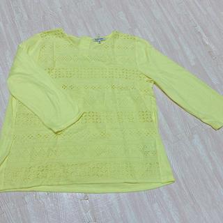 グローバルワーク(GLOBAL WORK)のコットン刺繍のトップス(シャツ/ブラウス(長袖/七分))
