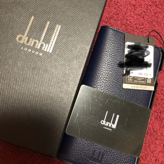 Dunhill - 新品 dunhill スマホケース iPhone8Plus の通販