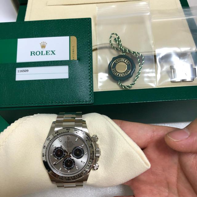 ROLEX - ロレックス デイトナ 116509 スチールブラック 美中古①の通販 by マモマモ's shop