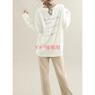 ヴィス(ViS)のバックロゴロングTシャツ(Tシャツ(長袖/七分))