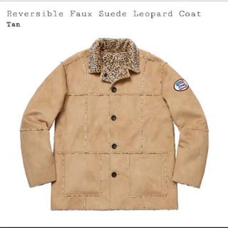 シュプリーム(Supreme)のReversible Faux Suede Leopard Coat(毛皮/ファーコート)