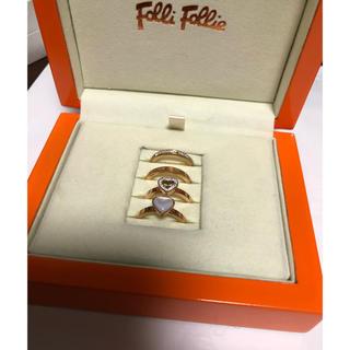 Folli Follie - 美品★フォリフォリ  4個セット リングセット 10号 値下げ!