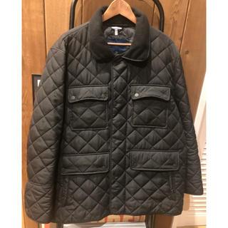 コールハーン(Cole Haan)のあんあん様専用 COOL HAAN キルティングジャケット XL ブラック(ナイロンジャケット)