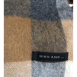 ニコアンド(niko and...)のNiko and… メンズマフラー(マフラー)
