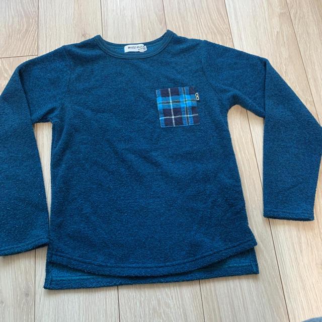eaB(エーアーベー)のBUZZ FUZZ by Bebe トレーナー 140 キッズ/ベビー/マタニティのキッズ服男の子用(90cm~)(Tシャツ/カットソー)の商品写真