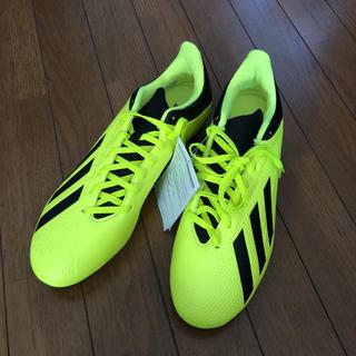 アディダス(adidas)のadidas エックス 18.4 FXG 28cm(シューズ)