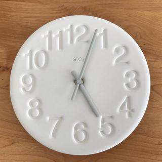 レムノス Lemnos 壁掛け時計  ホワイト(掛時計/柱時計)