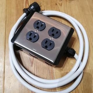 オーディオ電源タップ(パワーアンプ)