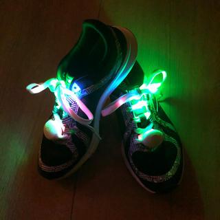 ライトシューレース 光る靴紐 ナイトラン(その他)