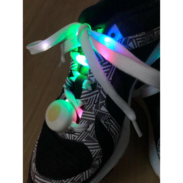 ライトシューレース 光る靴紐 ナイトラン レディースの靴/シューズ(その他)の商品写真