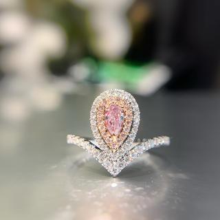 久しぶりの新作♡ピンクダイヤモンド指輪(リング(指輪))