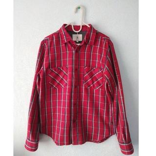 エーグル(AIGLE)のAIGLE 赤チェックシャツ(シャツ)