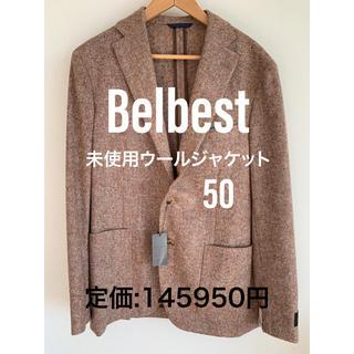 エストネーション(ESTNATION)のBelbest未使用ウールジャケット/エストネーションで購入/新品タグ付き/50(テーラードジャケット)
