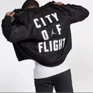 ナイキ(NIKE)のNike air Jordan city of flight jacket S (フライトジャケット)