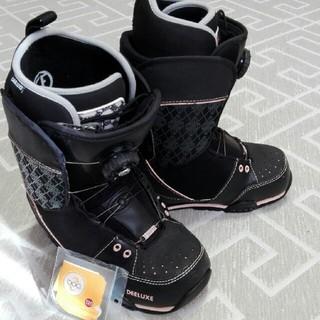 ディーラックス(DEELUXE)のスノーボードブーツ 23.5cm レディース(ブーツ)